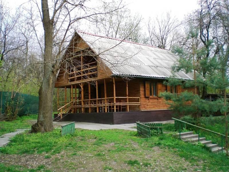 База відпочинку Чайка. Баня на дровах